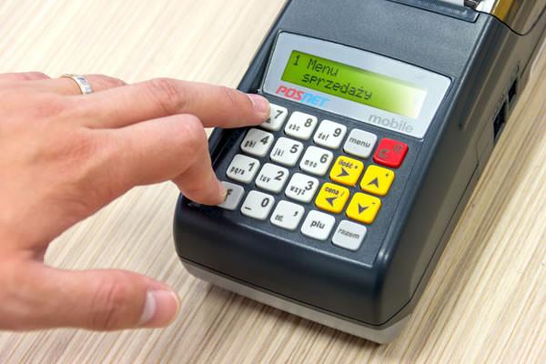 Obsługa kasy fiskalnej
