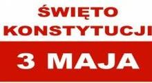 Apel z okazji uchwalenia Konstytucji 3 Maja oraz pożegnania klas maturalnych