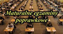 Egzaminy maturalne – termin poprawkowy