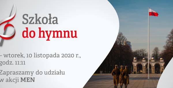 Szkoła do hymnu 2020